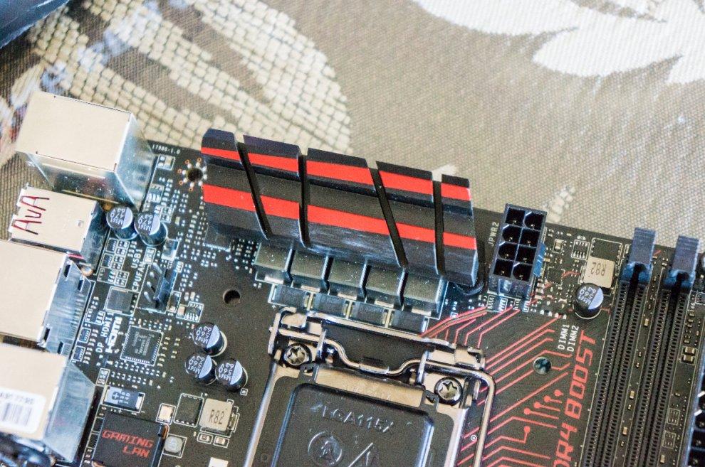 Fotografia de la Review de MSI Z170I Gaming Pro AC