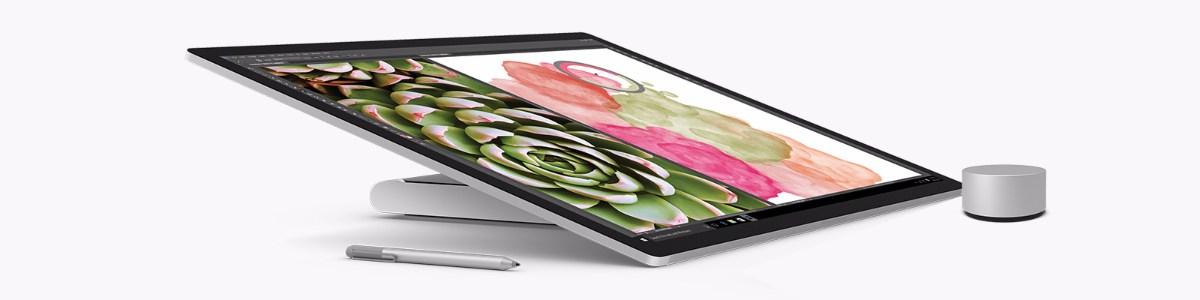 Microsoft también ha presentado junto con el Surface Book i7 el nuevo Surface Studio PC, un pc enfocado principalmente en el sector profesional.