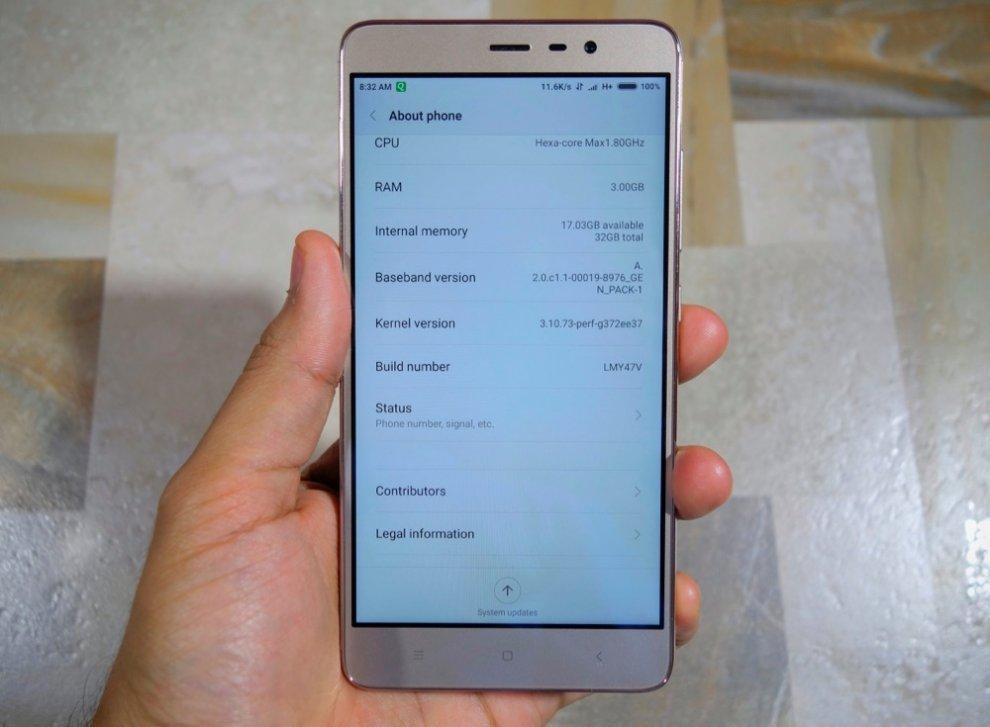 Fotografia de la Review de Xiaomi Redmi Note 3